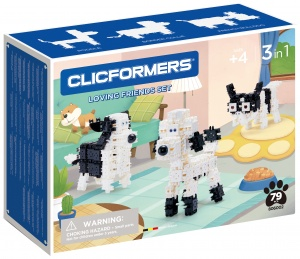Clicformers dog set Sweet Friends79-piece (806002)