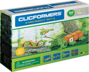 Clicformers mini insect set 30-piece