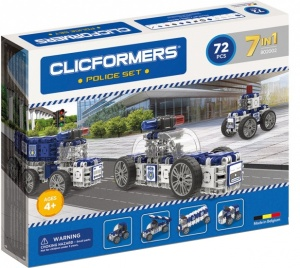 Clicformers police set 74-piece