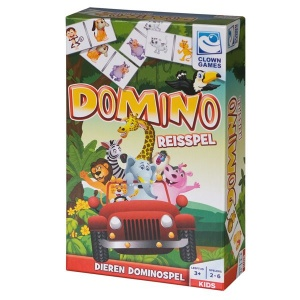 Clown Games domino reisspel 28-delig