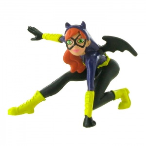 Comansi speelfiguur Super Hero Girls - Bat Girl 10 cm zwart