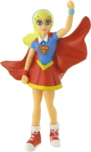 Comansi speelfiguur Super Hero Girls - Super Girl 10 cm rood