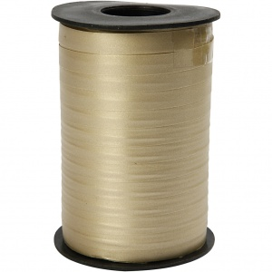 Creotime cadeaulint traditioneel 250 m x 10 mm goud