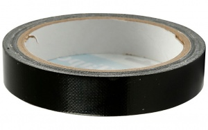 Creotime canvas tape 25 meter x 19 mm black