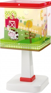 Dalber tafellamp My Little Farm 27 cm groen