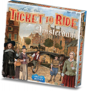 Days of Wonder brettspiel Ticket to RideAmsterdam Karton 154-teilig