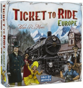 Days of Wonder jeu de plateau Ticket to Ride - Europe