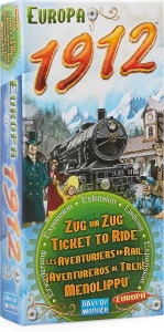 Days of Wonder élargissement Ticket to Ride- Europe 1912