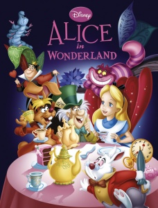 Deltas sprookjesboek Disney Alice in Wonderland 28 cm