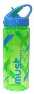 Diakakis pop-upschoolbeker Must junior 500 ml groen/blauw