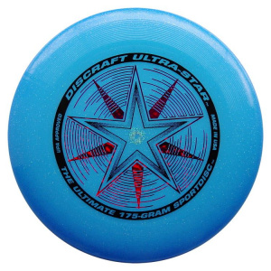 Discraft frisbee Sky Styler 27 cm blue with glitter