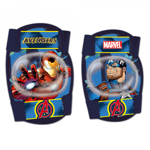 Disney Avengersset de protection junior foam bleu 4 pièces