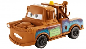 Disney Cars 3 Transforming Takeltruck Mater bruin 12-delig