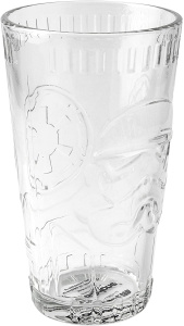 Disney drinkglas Star Wars Stormtrooper 400 ml glas transparant