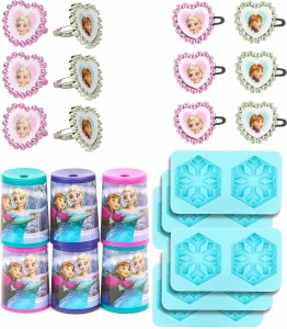 Disney party package Frozen 4-piece 6 packs