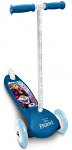 Disney Frozen 3-wiel kinderstep Girls Foot brakes Blue