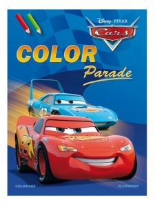 Disney kleurboek Color Parade Cars