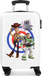 Disney koffer Toy Story junior 32 liter ABS wit/blauw