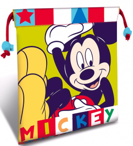 Disney sac à lunch Mickey Mouse junior 22 cm polyester jaune/bleu