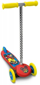 Disney Mickey Mouse 3-wiel kinderstep Junior Foot brakes Red/Yellow