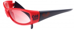 Disney Mickey Mouse sunglasses red / blue 12 cm