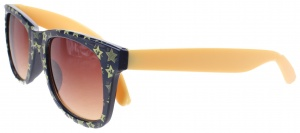 Disney Mickey Mouse sunglasses stars dark blue / yellow 12 cm