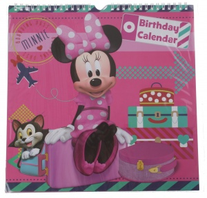 Disney Minnie Mouse kalender 28 x 28 cm