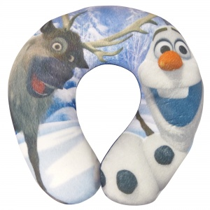 Disney nekkussen Olaf - winter magic 26 cm blauw