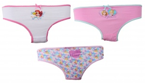 Disney underwear set Princess 3 pieces