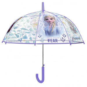Disney parapluie Frozen 2 automatique 74 cm filles transparent/violet