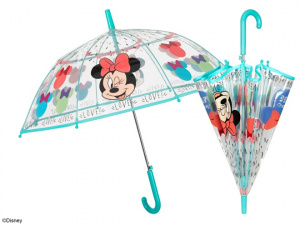 Disney parapluie Minnie Mouse 74 cm automatique filles transparent/multicolore