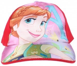 Disney cap Frozen girls red size 51-54
