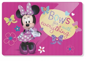 Disney placemat Minnie Mouse 45 x 30 cm roze