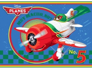 Disney Planes Speelkleed 95 X 133 cm No. 5