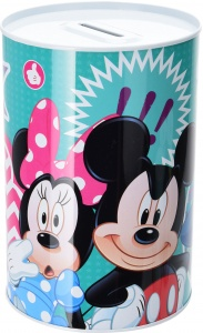Disney Mickey Mouse spaarpot Mickey and the Gang 160 ml groen