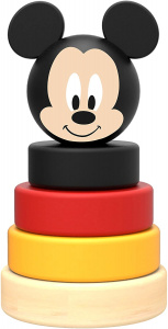 Disney stapeltoren Mickey Mouse junior 10 cm hout 5-delig