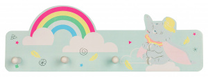 Disney wandgarderobe Dombow rainbow junior 36,5 cm Holz