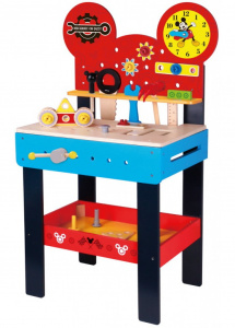 Disney workbench Mickey Mouse junior 89 cm wood blue/red
