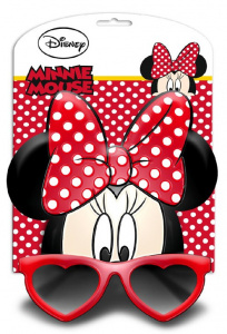 Disney zonnebril Minnie Mouse junior rood one-size