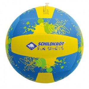 Donic Schildkröt beach ball XL 35 cm blue / yellow