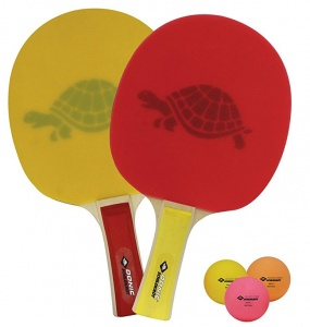 Donic Schildkröt table tennis set Neon Turtle 5 parts