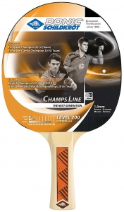 Donic Schildkröt table tennis bats Champs Line 200 black