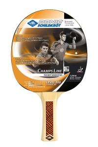 Donic Schildkröt table tennis bats Champs Line 300 black / red