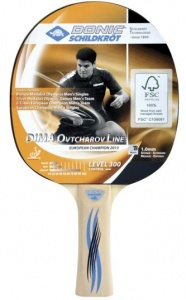 Donic Schildkröt Table Tennis Ovtcharov 300 FSC black