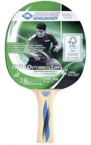Donic Schildkröt Table Tennis Ovtcharov 400 FSC black