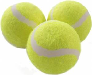 Donic Schildkröt tennisballen Magic-Sports geel 3 stuks