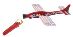 Eddy Toys catapult aircraft US Air Force 20cm