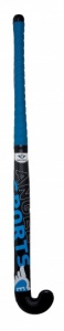 Angel Sports Streethockeystick 36 inch 28 mm zwart/blauw