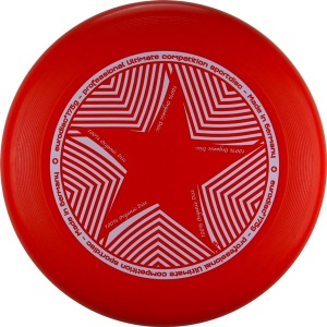 Eurodisc frisbee Ultimate Star 27 cm red