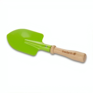 Everearth Hand shovel wood bright green 22 cm